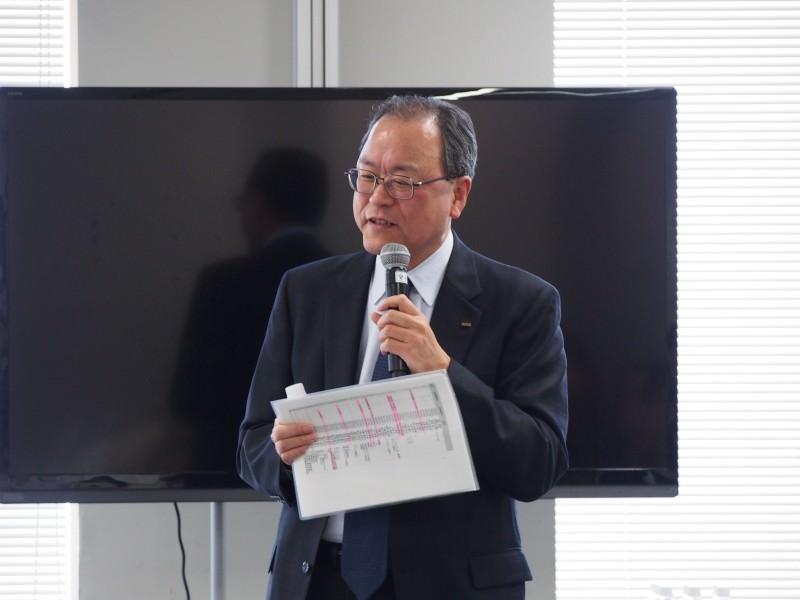 KDDI様:田中会長